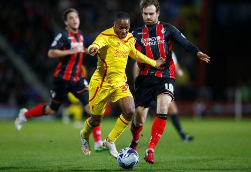 Raheem Sterling thi đấu bùng nổ trước Bournemouth