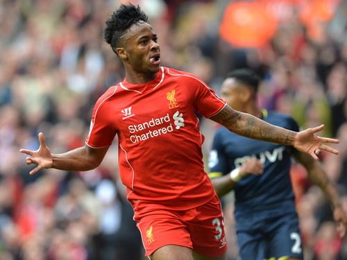 Sterling mở tỉ số cho Liverpool
