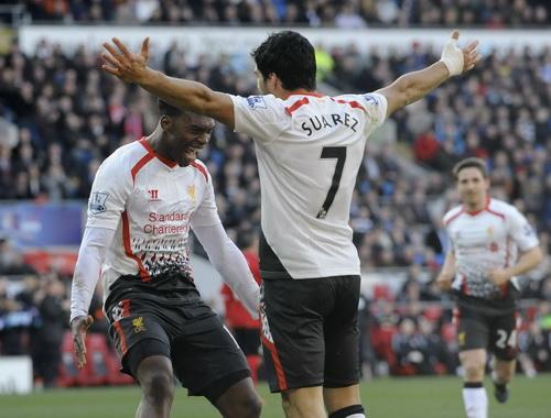 Niềm vui chiến thắng của Liverpool
