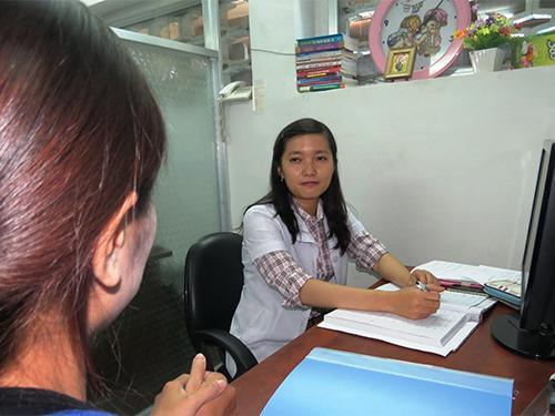Tư vấn tâm lý cho một bệnh nhân tại Trung tâm Giám định pháp y tâm thần TP HCM