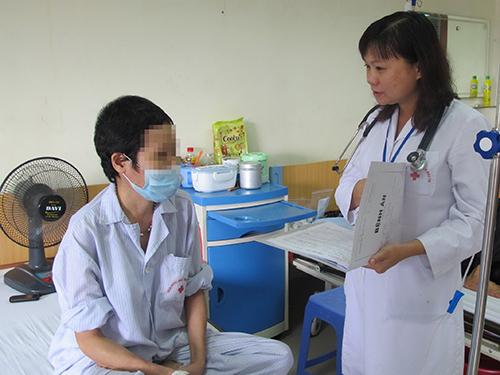 Bệnh nhân lơ-xê-mi kinh dòng bạch cầu hạt điều trị tại Viện Huyết học - Truyền máu trung ương