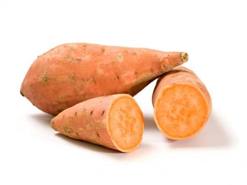 Khoai lang chứa nguồn beta-carotene dồi dào và nhiều chất dinh dưỡng khác. Ảnh MNT