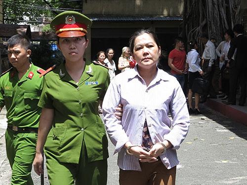 Trần Thị Xuân Hoa phải lãnh 5 năm tù