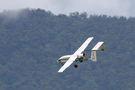 Một mẫu máy bay không người lái của Đài Loan. Ảnh: CNA