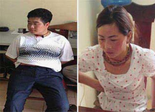 Vợ chồng ông trùm Tráng A Tàng (Tàng Keangnam) và vợ Giàng Thị Sua - Ảnh: CAND