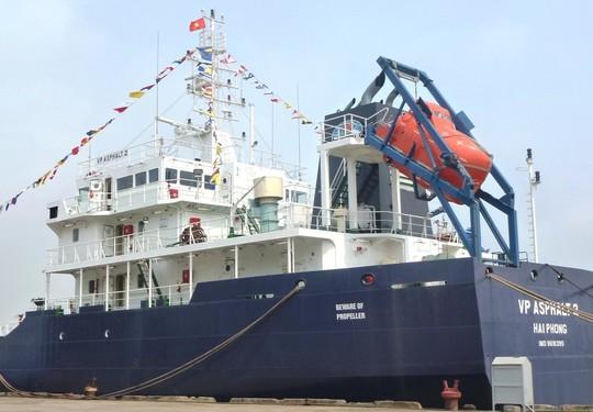 Tàu VP ASPHALT 2 - Ảnh: Vietnam MRCC cung cấp