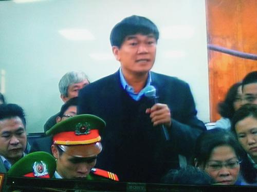 Ông Trần Đình Long (bầu Long) xác nhận có việc gửi đơn đề nghị CSĐT làm rõ - Ảnh chụp qua màn hình