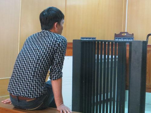 Hoàng Văn Chung tại phiên tòa