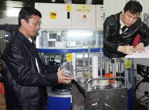 Tổng giám đốc nước ngoài của Công ty TNHH Huge Gain Holdings Vietnam - Ảnh: CAND