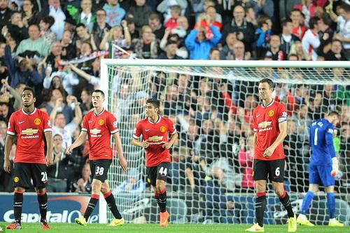 Man United cúi đầu rời Cúp Liên đoàn Anh