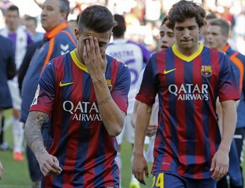 Thất vọng Barcelona