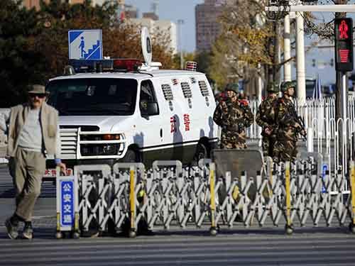 An ninh được siết chặt tại Bắc Kinh trước thềm Hội nghị Cấp cao APECẢnh: Reuters