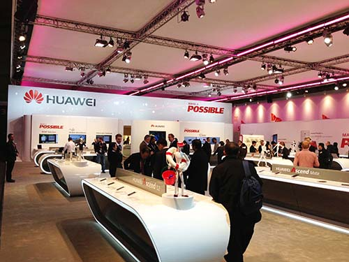 Công ty Huawei của Trung Quốc liên tục vướng tai tiếng về an ninhẢnh: INTELLECT SOFT