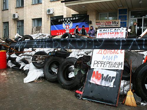Donetsk và Luhansk quyết không dời ngày trưng cầu dân ý Ảnh: GLOBAL LOOK PRESS