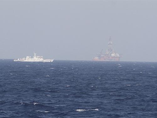 Thượng viện Mỹ hối thúc Trung Quốc rút giàn khoan Hải Dương 981 cùng các lực lượng ra khỏi vị trí hiện nayẢnh: Reuters