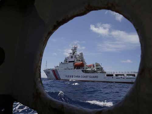 Với đội tàu lớn và nhiều hơn hẳn nhưng Trung Quốc vẫn lu loa bị tàu Việt Nam đâm va hơn 1.400 lầnẢnh: AP