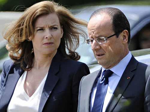 Tổng thống Pháp François Hollande và bà Valérie Trierweiler thuở còn mặn nồngẢnh: Reuters