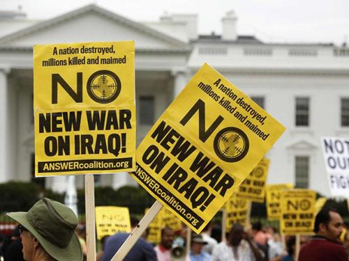 Hầu hết người dân Mỹ không muốn quân đội nước này can dự quá sâu vào cuộc chiến chống IS ở IraqẢnh: REUTERS