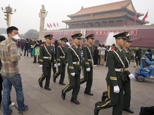 An ninh được thắt chặt tại Bắc Kinh trong thời gian họp phiên toàn thể của Ban Chấp hành Trung ương Đảng Cộng sản Trung QuốcẢnh: SCMP