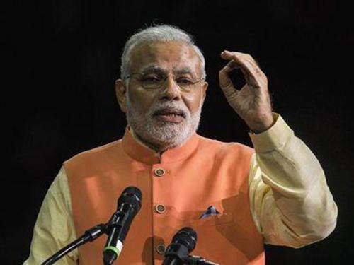 Thủ tướng Ấn Độ Narendra Modi cam kết thu hồi khoản tiền gửi bất hợp pháp tại các ngân hàng nước ngoài Ảnh: Reuters