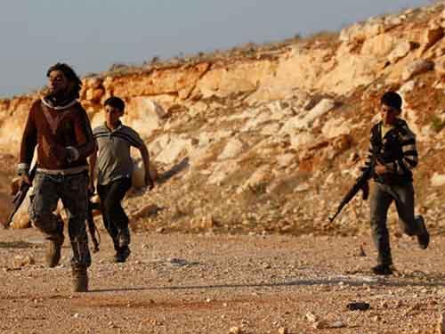 Mỹ nhận định tình hình Syria càng thêm phức tạp bởi cuộc chiến chống IS Ảnh: REUTERS
