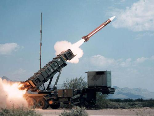 Hệ thống tên lửa đất đối không PAC-2 Ảnh: Japan Air Self-Defense Force