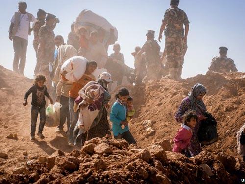 Hơn 3 triệu người Syria phải đi tị nạn vì chiến sựẢnh: UNHCR