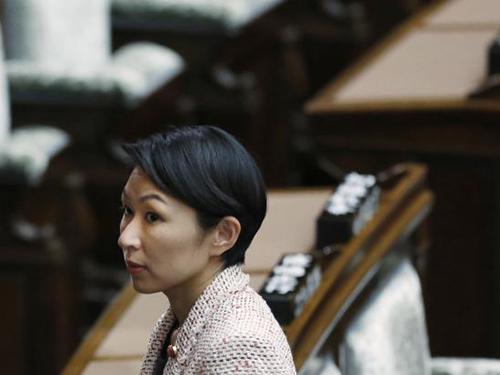 Bộ trưởng Kinh tế, Thương mại và Công nghiệp Nhật Bản Yuko Obuchi  Ảnh: REUTERS