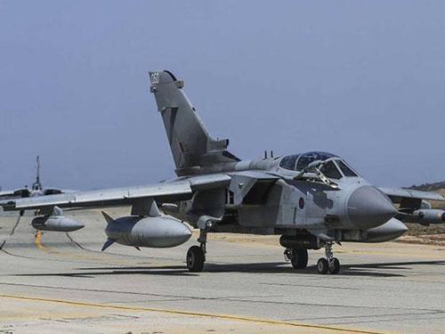 Anh điều thêm 2 máy bay chiến đấu Tornado tham chiến chống IS Ảnh: Independent