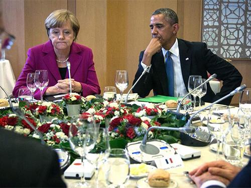 Quan hệ Đức - Mỹ lại xấu đi bởi nghi án gián điệp Ảnh: DPA