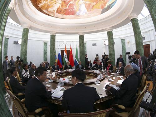 Một phiên họp tại hội nghị thượng đỉnh G20 ở Saint Petersburg - Nga vào tháng 9-2013Ảnh: AP
