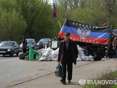Donetsk và Luhansk được chính quyền Kiev cho hưởng quy chế tự trị đặc biệtẢnh: RIA NOVOSTI