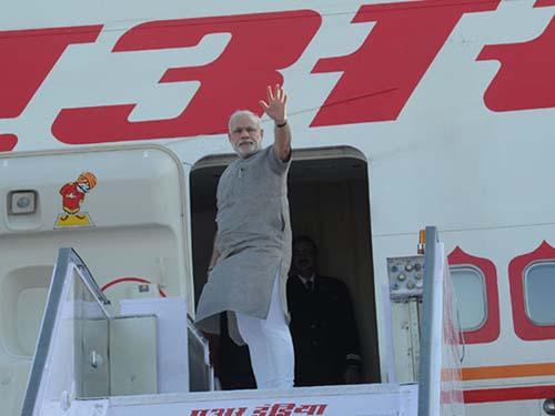 Thủ tướng Ấn Độ Narendra Modi lên đường đến MỹẢnh: indiatoday.intoday.in
