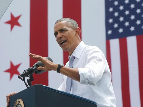 Tổng thống Mỹ Barack Obama gia tăng công kích phe Cộng hòa trong những ngày gần đây Ảnh: AP