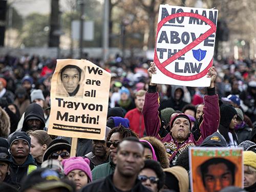 Một cuộc biểu tình ở thủ đô Washington hôm 13-12Ảnh: Reuters