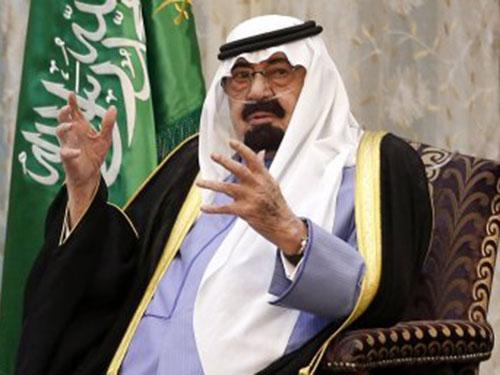 Quốc vương Abdullah  Ảnh: REUTERS