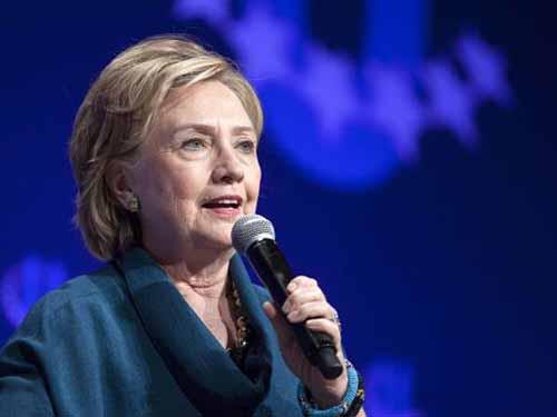 Bà Hillary Clinton Ảnh: Reuters