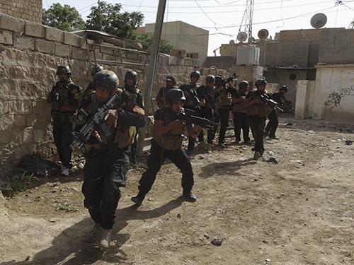 Lực lượng Iraq tham gia chiến dịch truy quét quân nổi dậy ở TP Ramadi gần đâyẢnh: Reuters