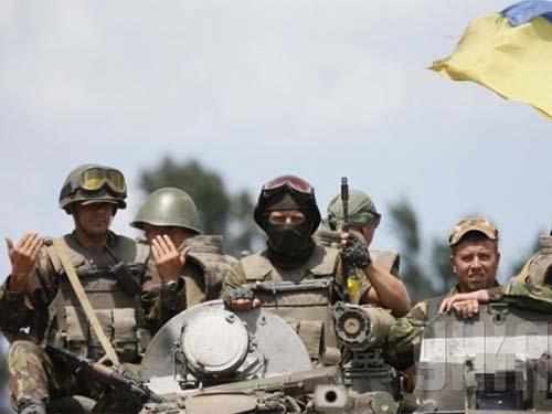 Kiev tự tin đến mùa đông sẽ kết thúc chiến dịch quân sự ở miền ĐôngẢnh: UNIAN