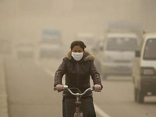 Trung Quốc là nước thải khí gây hiệu ứng nhà kính nhiều nhất thế giới Ảnh: AP