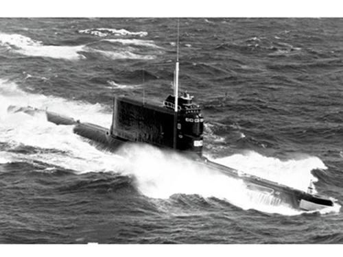 Tàu ngầm diesel lớp Golf Ảnh: RIA Novosti