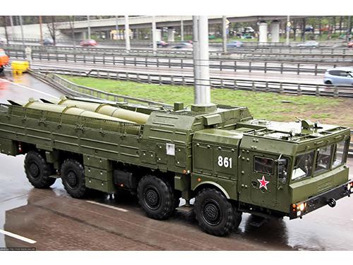 Nga đã đưa sư đoàn tên lửa Iskander tầm xa mới nhất đến Crimea Ảnh: LIVE JOURNAL