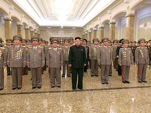 Giới lãnh đạo Triều Tiên bị đề nghị đưa ra tòa án quốc tế vì những tội ác chống lại loài người Ảnh: Reuters