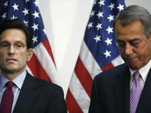 Chủ tịch Hạ viện Mỹ John Boehner sẽ tổ chức bỏ phiếu về nâng trần nợ vào tuần sauẢnh: REUTERS