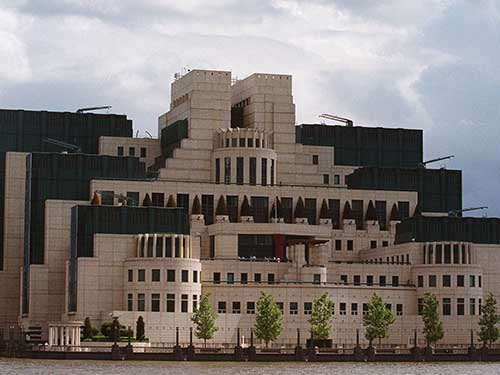 Trụ sở Cơ quan Tình báo nước ngoài của Anh (MI6) ở LondonẢnh: Reuters