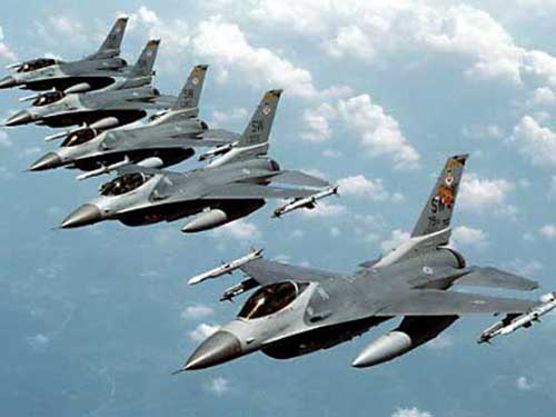 Mỹ sắp điều 12 chiếc máy bay chiến đấu F-16 đến Hàn Quốc Ảnh: Schema-root.org