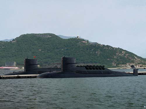 Tàu ngầm lớp Tấn 094 của Trung QuốcẢnh: Defense.pk
