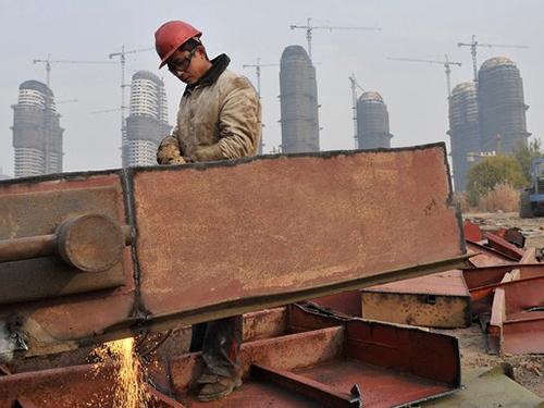 Một công trình xây dựng ở tỉnh An Huy - Trung QuốcẢnh: Reuters