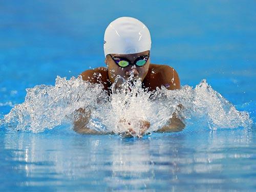 Ánh Viên mang trên vai sự kỳ vọng của môn bơi lội và cả đoàn thể thao Việt Nam