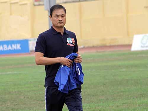 HAGL của HLV Choi Yoon Gyum tụt lại trong cuộc đua giành chức vô địch V-League mùa này Ảnh: Ngọc Linh